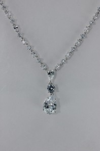 Drop CZ Necklace Wholesale