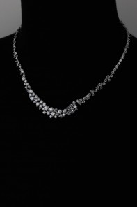 Elegance Bridal CZ Necklace