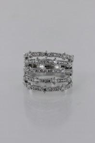 Five LIne CZ Ring Wholesale