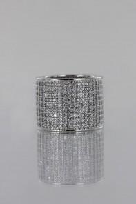 Pavement Lux CZ Ring