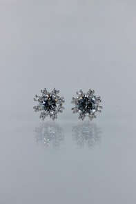 Morning dew cubic zirconia earring