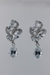 Royal birth cubic zirconia earring