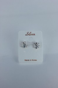 Teffa Cubic Zircornia earring with silver post