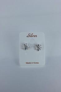 Teffa Cubic Zircornia earring with silver post