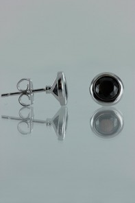 6MM AAA Quality CZ Earring