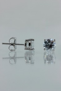 6MM AAA Quality Earring