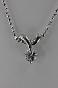 JESS CZ Necklace Pendant