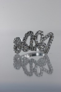 Roman love CZ Ring