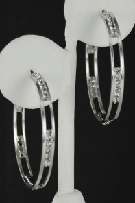 43MM HOOP EARRING