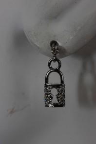 Key & Lock Fashion Stud earring