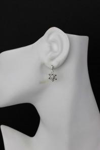 Snowflake II Small Stud Earring