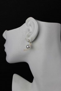 Silver Post Stud Earring