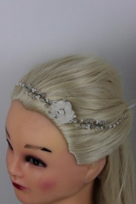 Handmade Bridal Hair with Bobby Pin