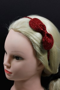 Glitter round everyday headband jewelry