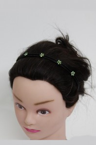Five-Flower Prom Headband