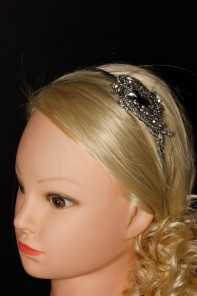 Limited Custom Crystal Cutting Braidal headband