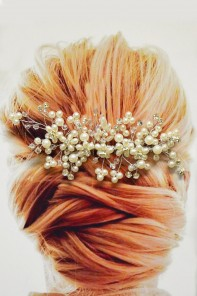 Handmade wedding comb