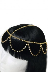 Cleo headchain jewelry