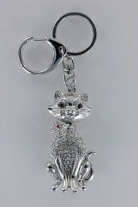 Happy Cat 3D Key Chain