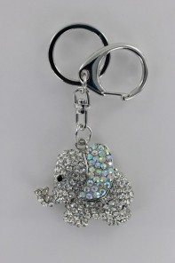 Elephant 3D Key Chain