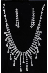 Party Rhinestone Necklace