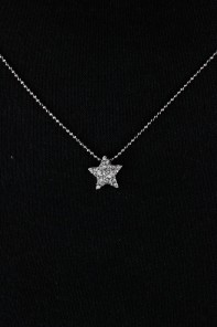 Two Side Star Necklace
