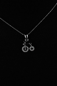 Biycle Small Necklace