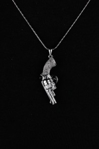 Cuttie Gun Necklace