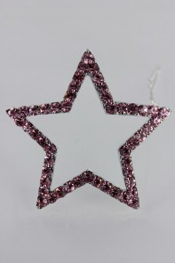 Large star hair pin