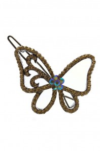 Line butterfly hair pin