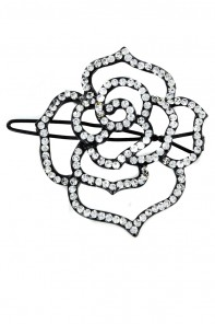 Large rose hair pin