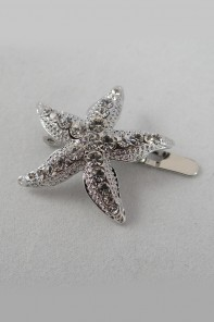 Starfish magnetic hair pin