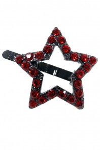 Star small magnetic hair pin