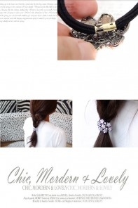 Super Turtle ponytail jewelry
