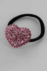 1.5 Heart ponytail jewelry