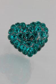 Adjustable Small Heart Ring