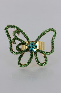 Adjustable Fantastic Butterfly Ring