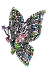 Ultimate butterfly wedding stick
