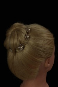 Flower pearl stick (set of 6)