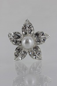 Flower pearl hair pins