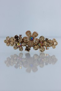 Small Acrylic flower hair barrette jewelry