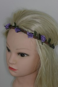 Elsatic flower headband package