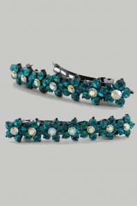 STEVEN FLOWER PROM HAIR BARRETTE JEWELRY