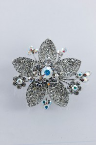 Timeless flower hair barrette