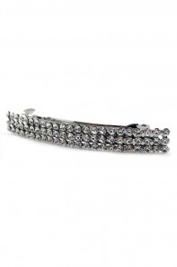 THREE LINE RHINESTONE HAIR BARRETTE JEWELRY