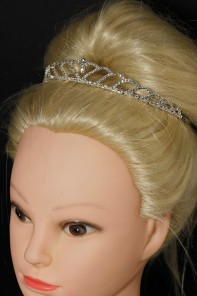 Round smooth headband tiara