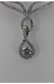 CZ-N202 Trend CZ bridal necklace